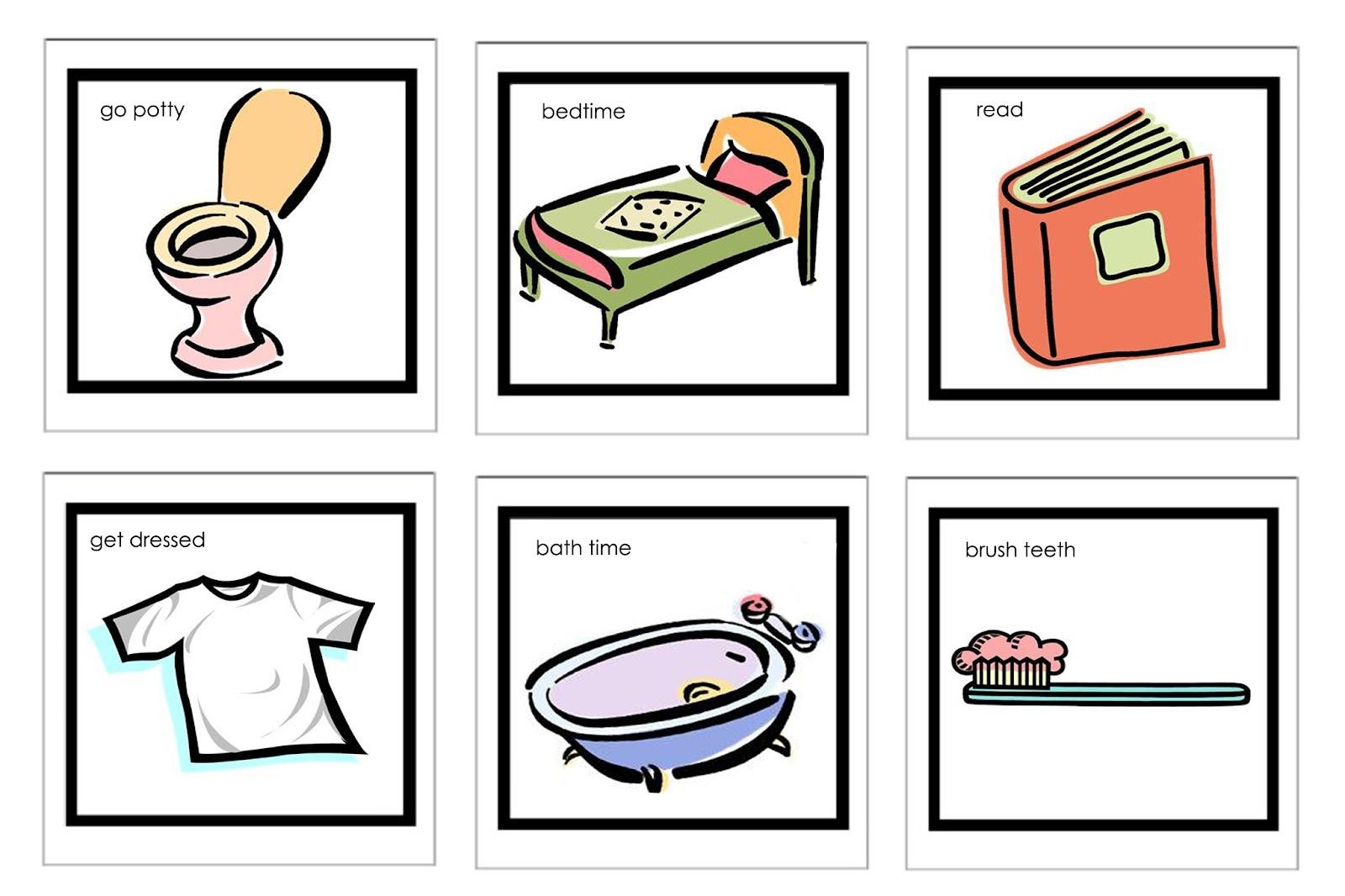 Free Preschool Cliparts Printables, Download Free Clip Art, Free - Free Printable Picture Schedule For Preschool