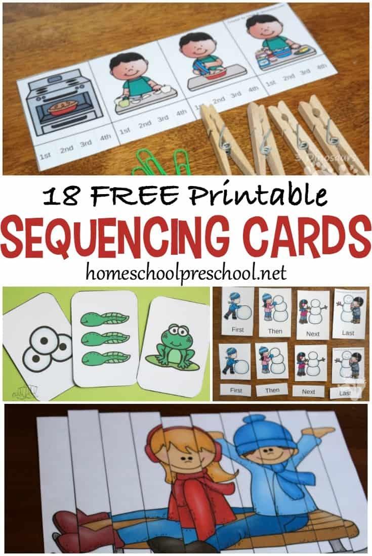 Free Preschool Printables For Your Homeschool Preschool - Free Printable Schedule Cards For Preschool