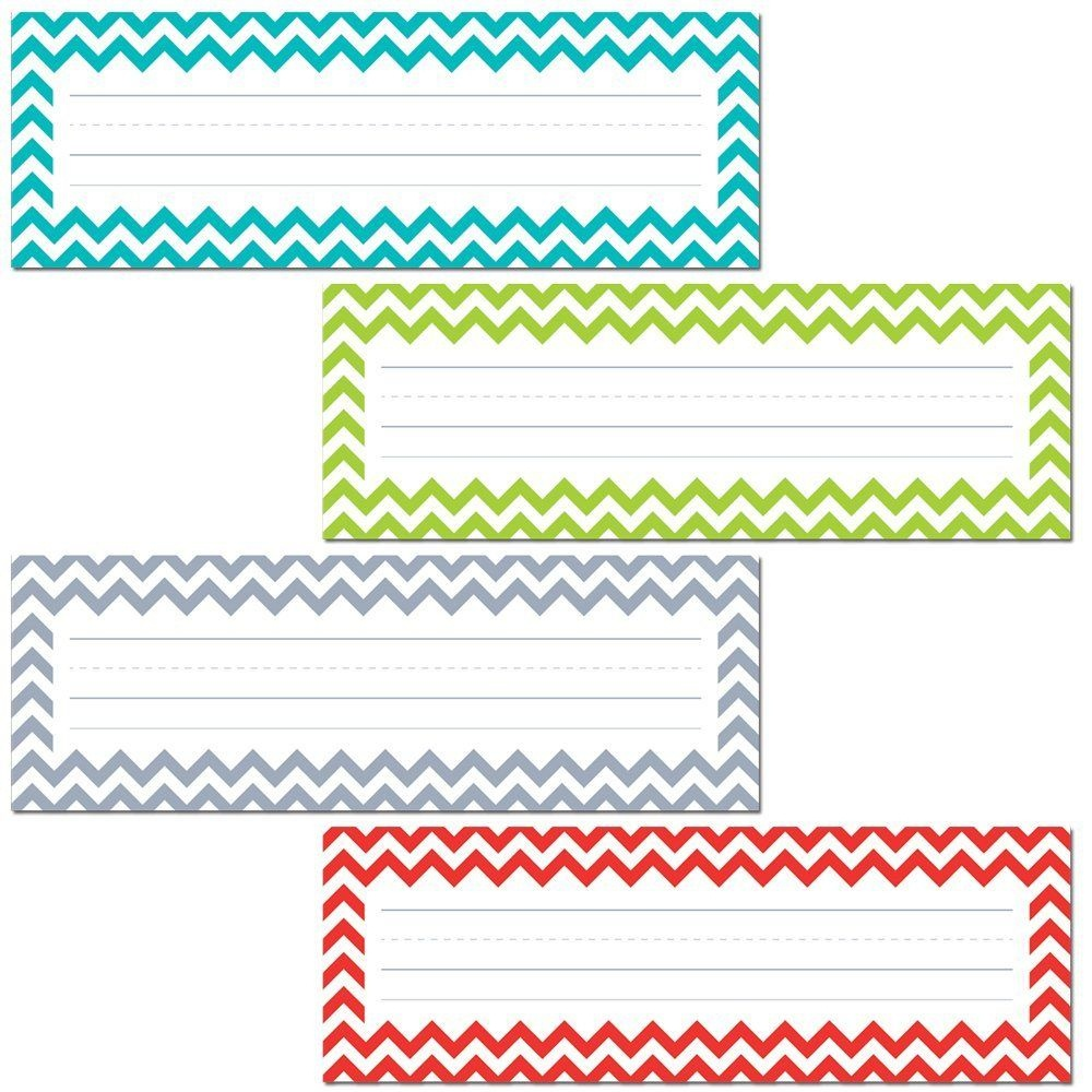 Free Preschool Word Wall Name Template - Google Search | Education - Free Printable Chevron Labels