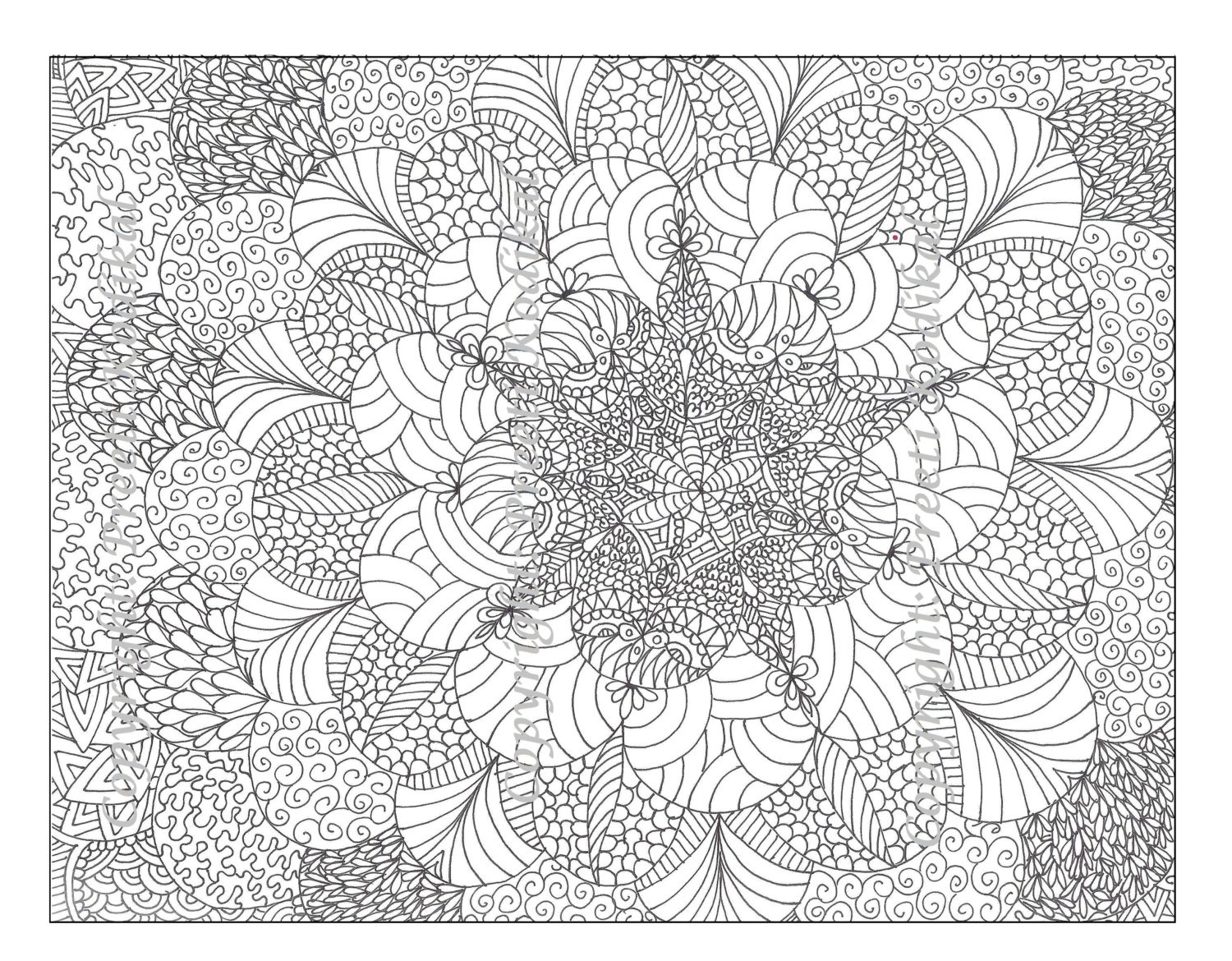 Free Printable Abstract Coloring Pages For Adults - Free Printable Hard Coloring Pages For Adults