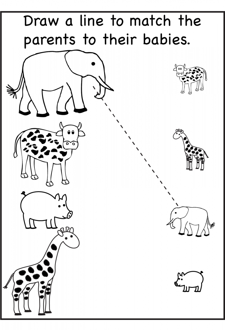 Free Printable Activity Sheets For Kids ~ Learningwork.ca - Free Printable Kid Activities Worksheets
