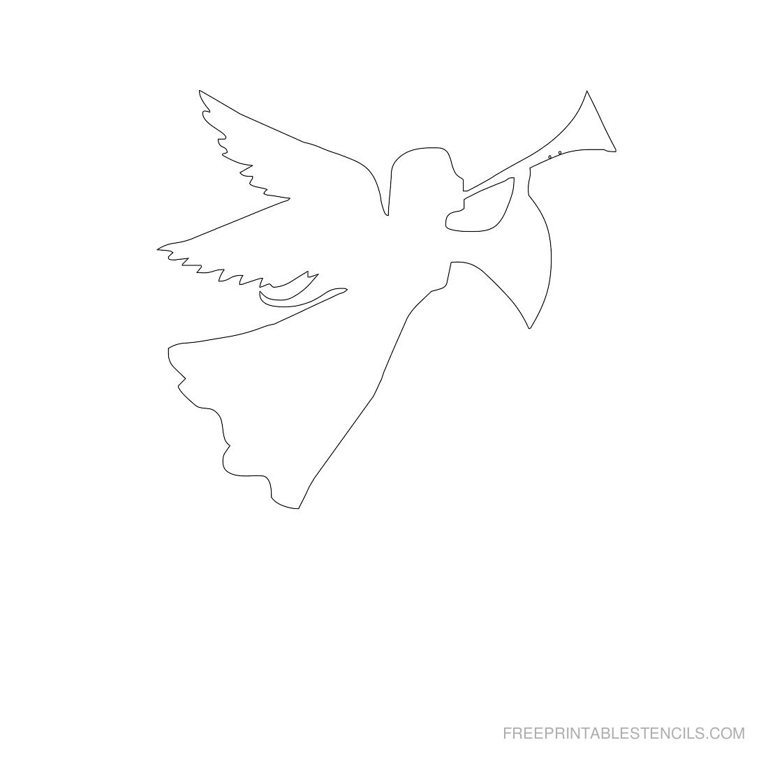 Free Printable Angel Stencils | Free Printable Stencils - Free Printable Pictures Of Angels