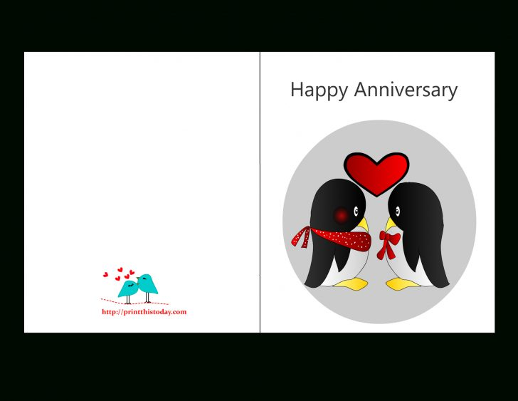 Printable Cards Free Anniversary
