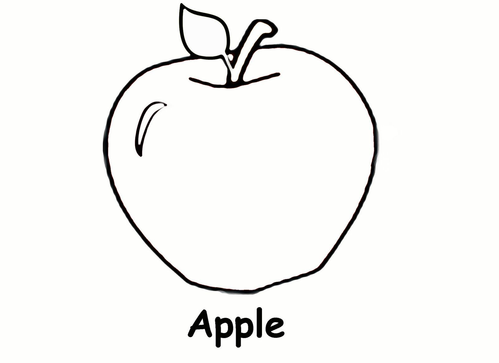 Free Printable Apple Coloring Pages For Kids | Coloring Book Pages - Free Printable Pages For Preschoolers