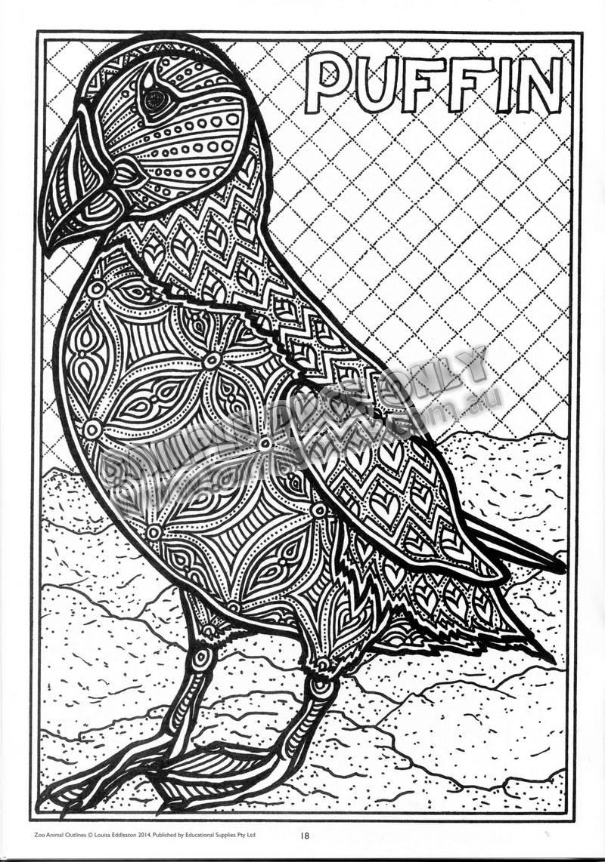 Free Printable Arty Animal Outlines | Free Printables - Free Printable Arty Animal Outlines
