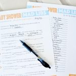 Free Printable Baby Shower Mad Libs | Baby Shower | Baby Shower Mad   Baby Shower Mad Libs Printable Free