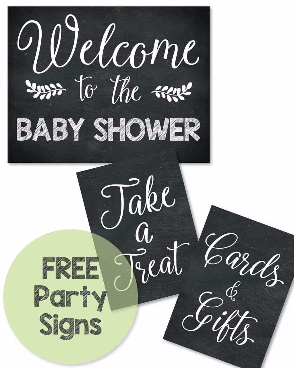 Free Printable Baby Shower Signs - Print It Baby | Baby Shower - Free Printable Party Signs
