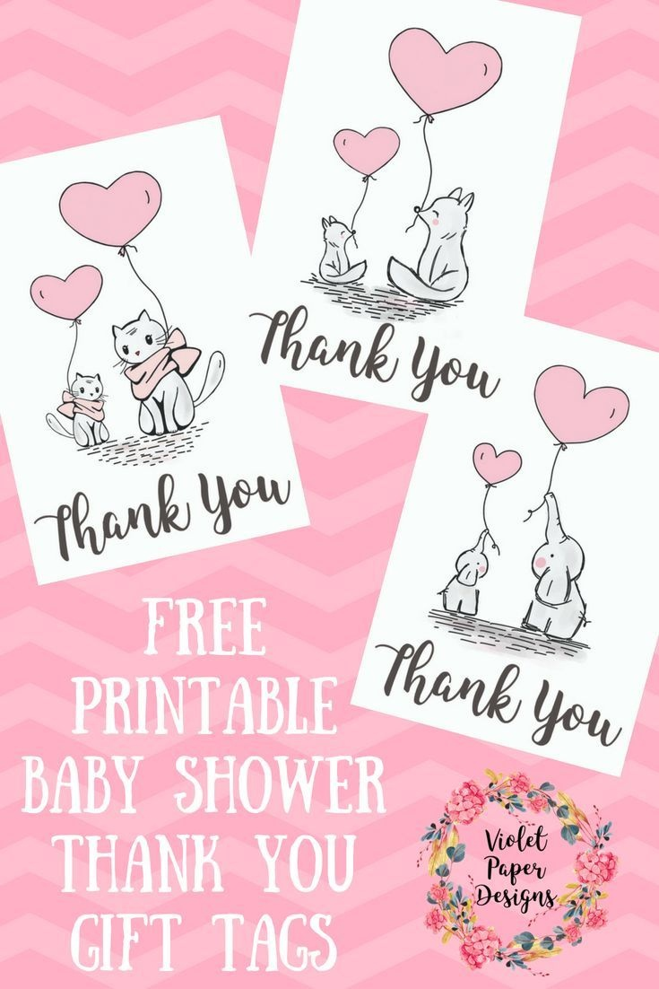 Free Printable Baby Shower Thank You Gift Tags | Planners - Free Printable Baby Shower Gift Tags