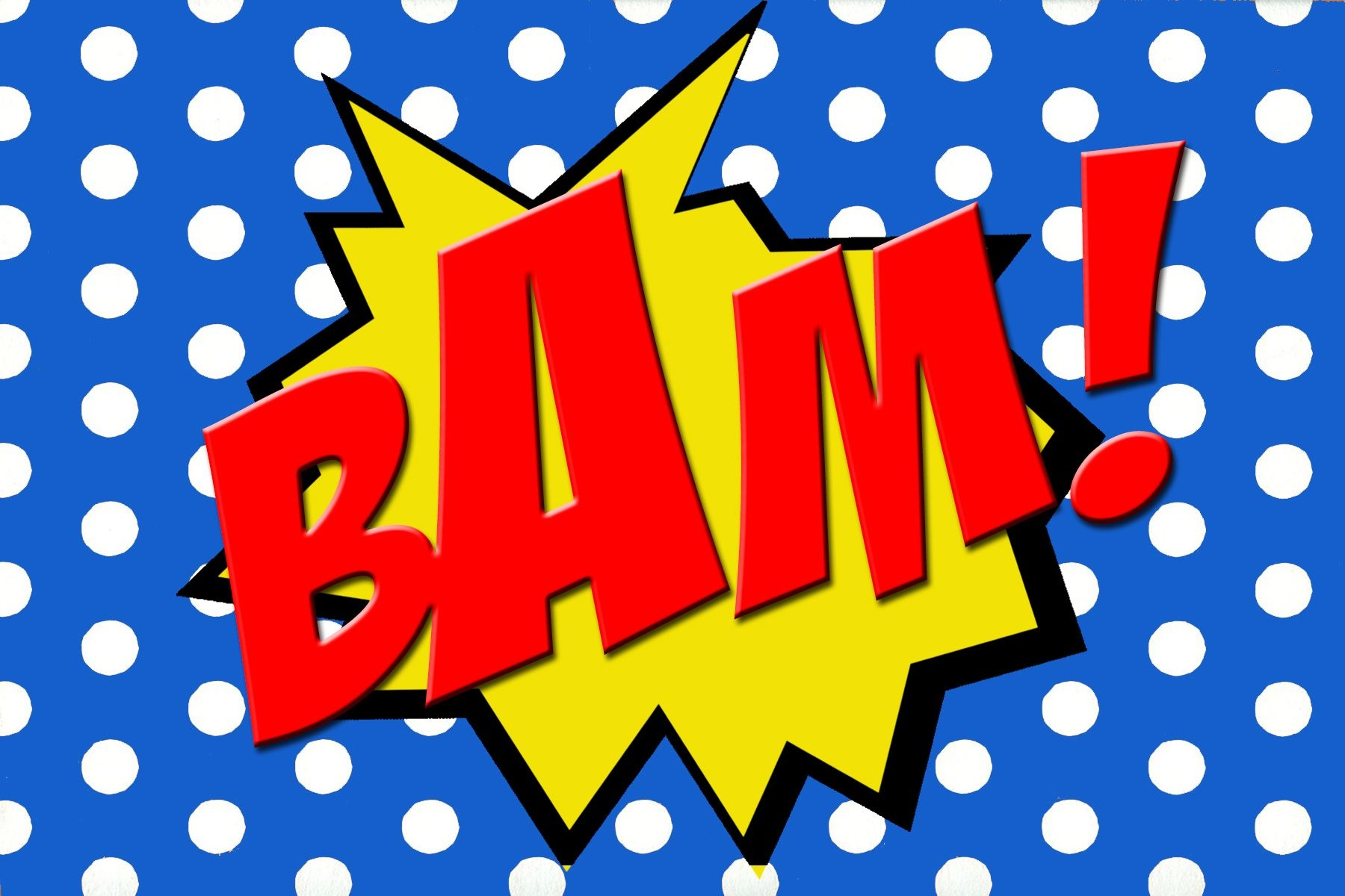 Free Printable Bam! Comic Book Word. | Super Hero Party | Superhero - Free Printable Superhero Words