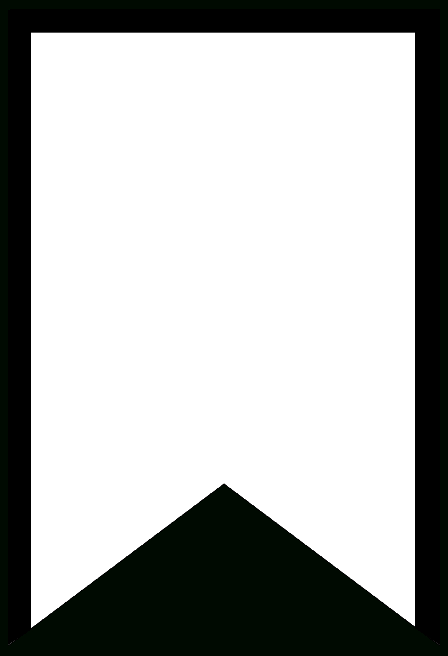 Free Printable Banner Templates {Blank Banners} - Paper Trail Design - Free Printable Blank Flag Template