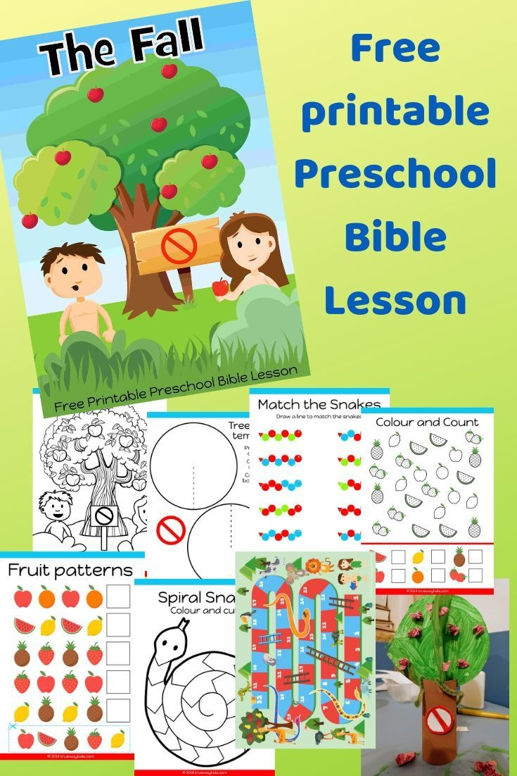 Free Printable Bible Lesson For Preschool Children. Teaching The - Free Printable Bible Crafts