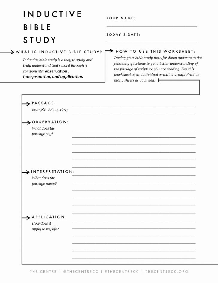 Bible Lessons For Adults Free Printable