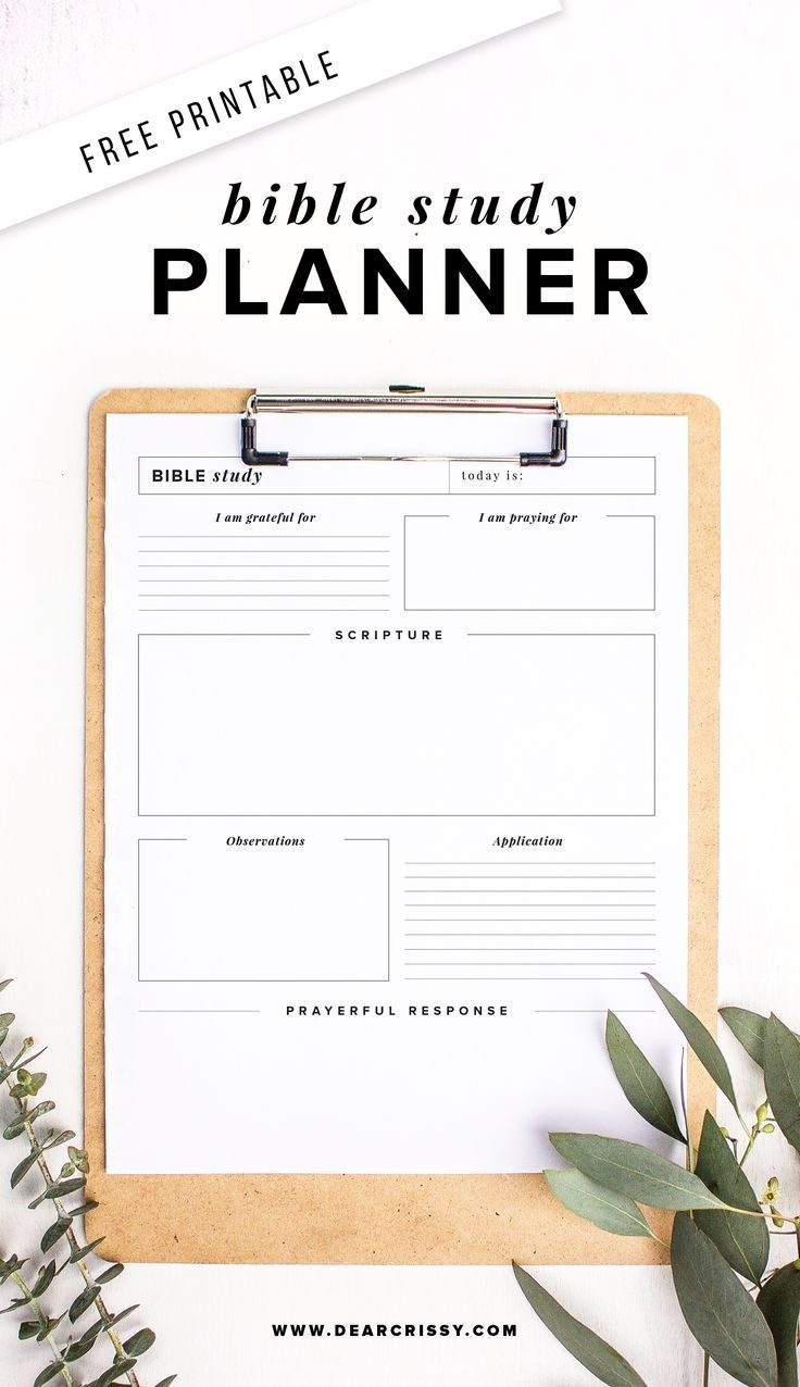 Free Printable Bible Study Planner - Soap Method Bible Study - Free Printable Bible Study Worksheets For Adults