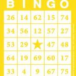 Free Printable Bingo Card Template   Bingocardprintout   Printable Bingo Template Free