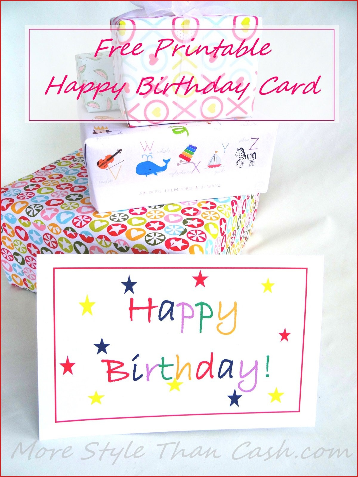 Free Printable Birthday Card Print Birthday Cards Online : Lenq - Free Printable Happy Birthday Cards Online