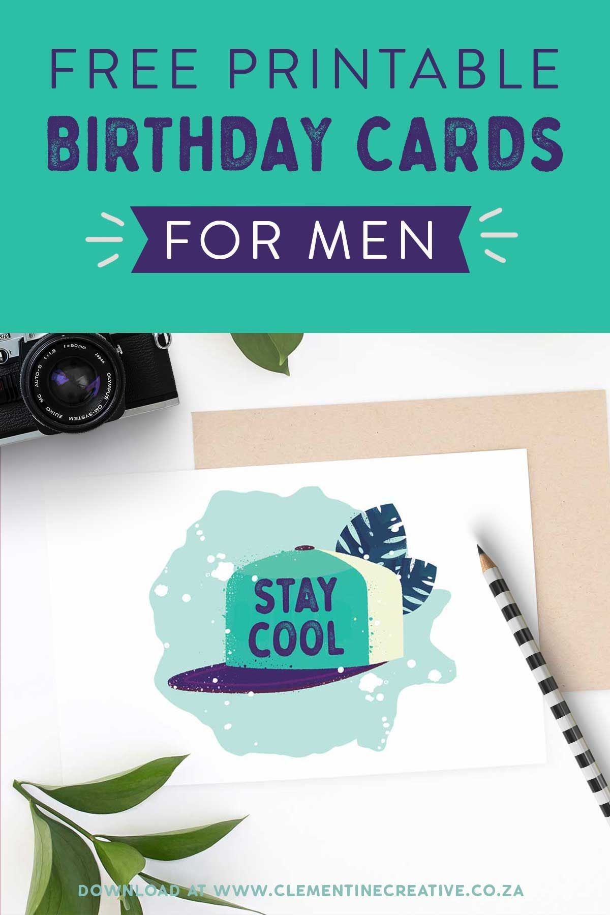 Free Printable Birthday Cards For Him | Printables | The Best - Free Printable Birthday Cards For Him
