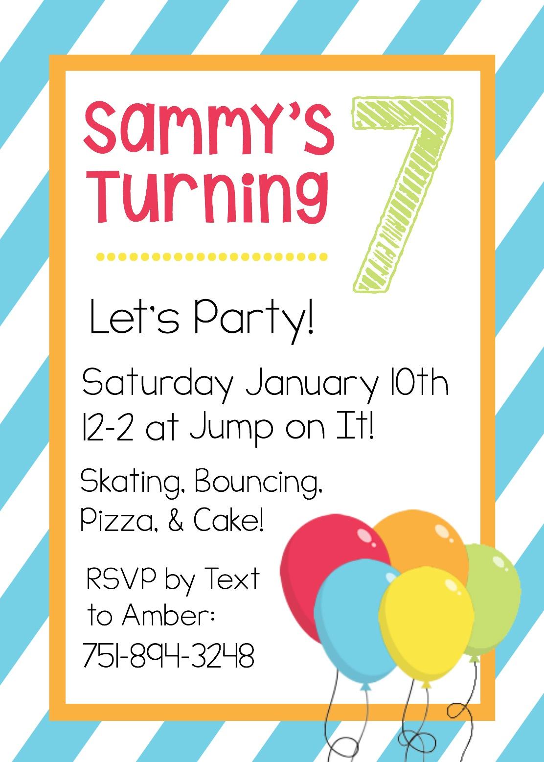 Free Printable Birthday Invitation Templates - Free Printable Invitations