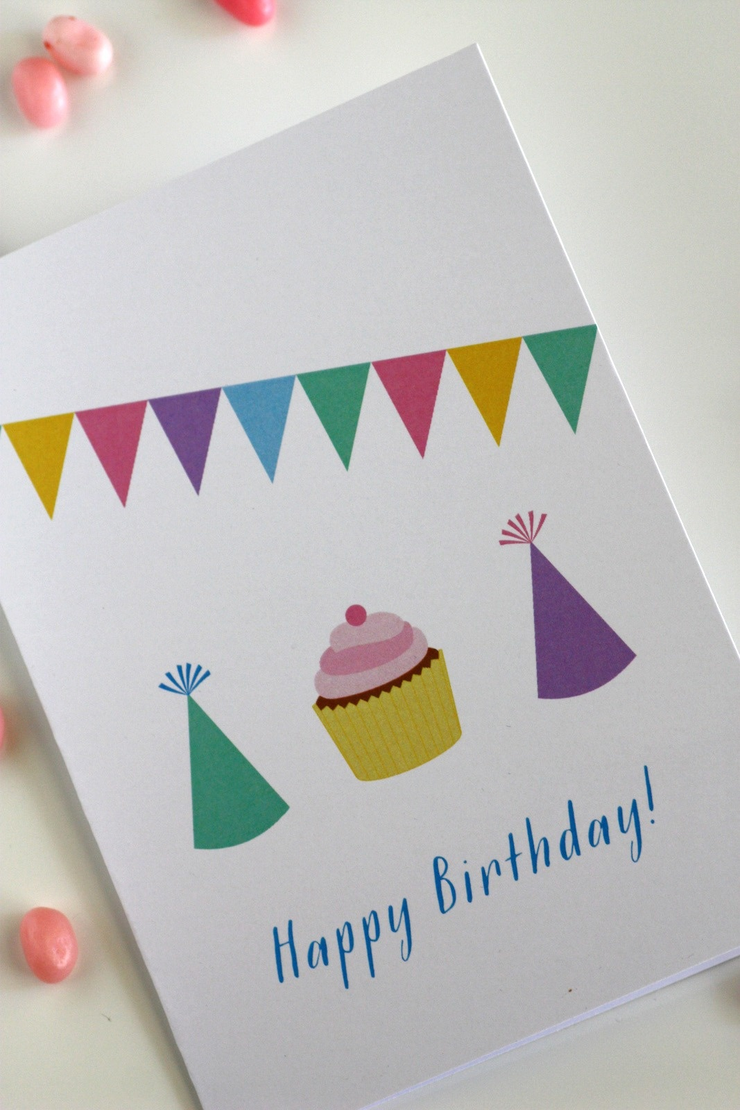 Free Printable Blank Birthday Cards | Catch My Party - Free Printable Birthday Cards For Kids