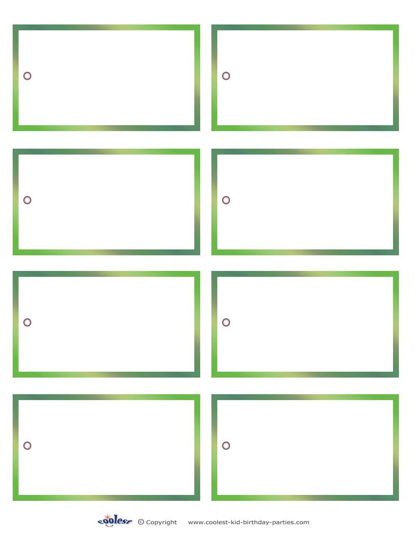 Free Printable Blank Tags - All Free Tag Designs - Free Printable Blank Gift Tags