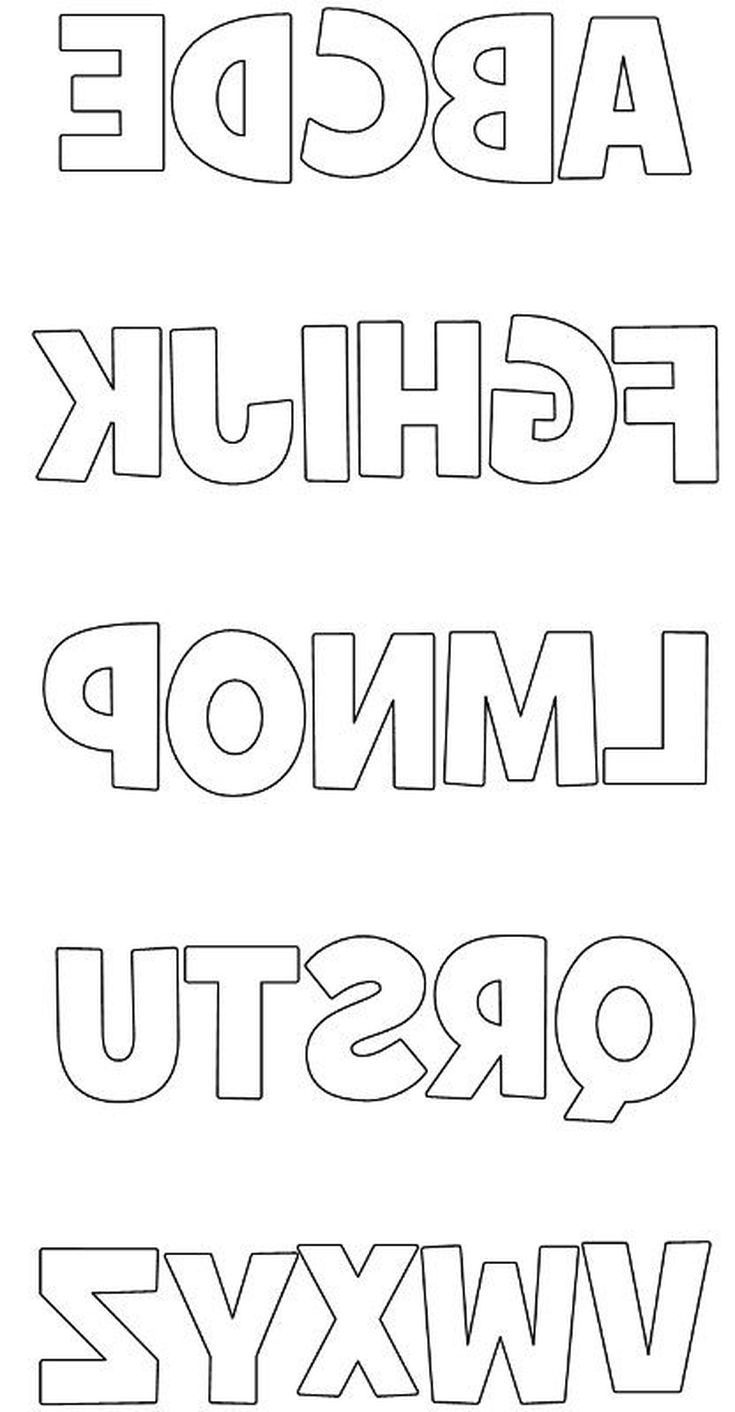 Free Printable Block Letters And Numbers For Scrapbooking And - Free Printable Block Letters