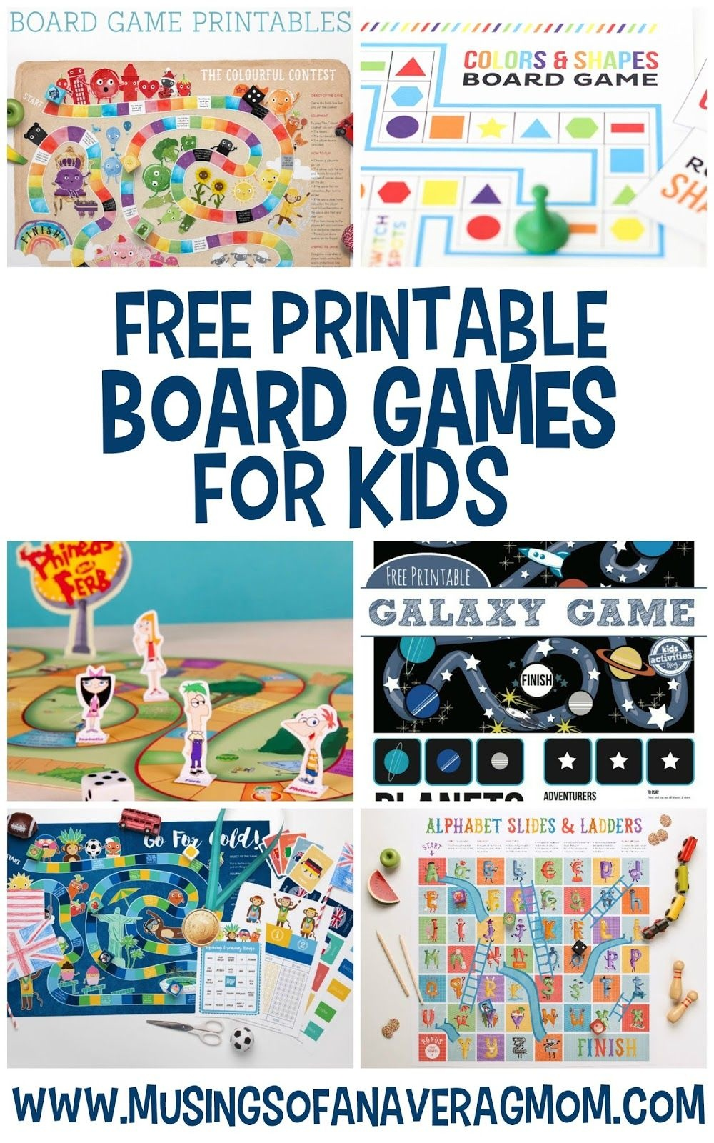 Free Printable Board Games | Printables For Kids | Printable Board - Free Printable Games