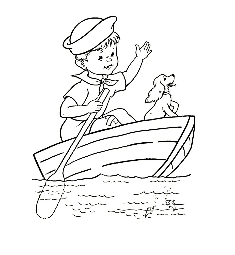 Free Printable Boat Coloring Pages For Kids - Best Coloring Pages - Free Printable Boat Pictures