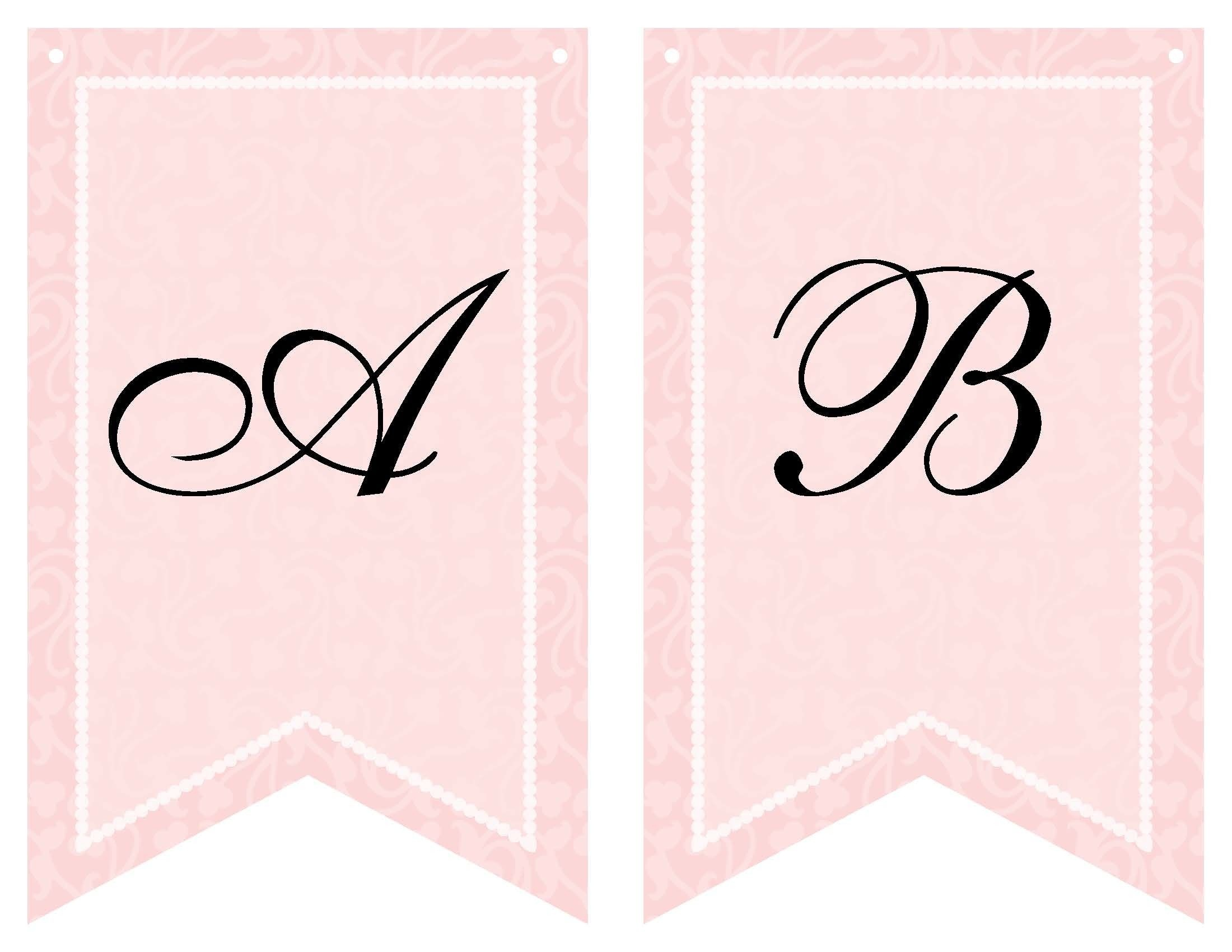 Free Printable Bridal Shower Banner | Vow Renewal | Wedding Shower - Free Printable Miss To Mrs Banner