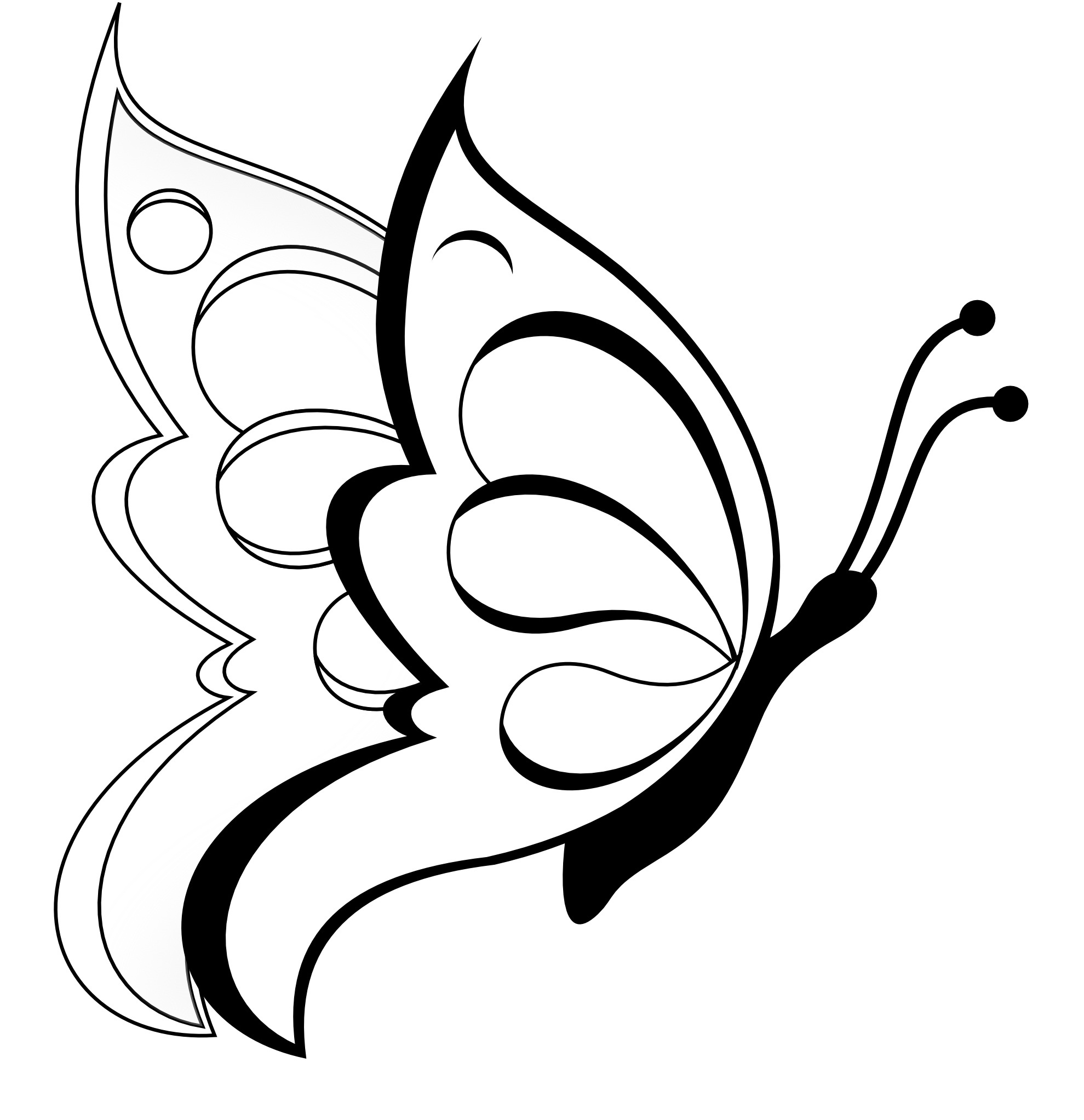 Free Printable Butterfly Coloring Pages For Kids - Free Printable Butterfly Coloring Pages