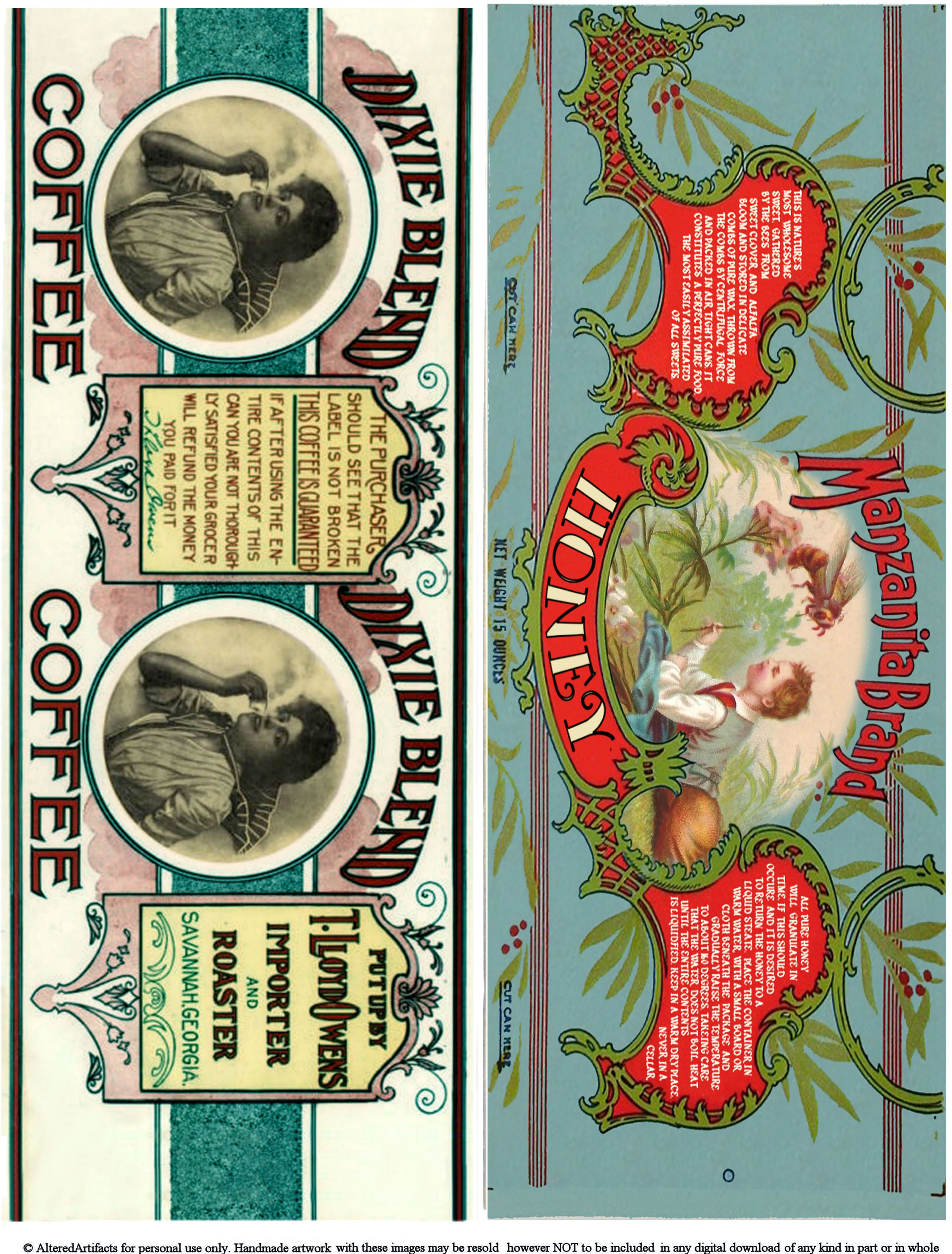 Free Printable Can Labels Vintage Brands Images For Decoupage And - Free Printable Old Fashioned Labels