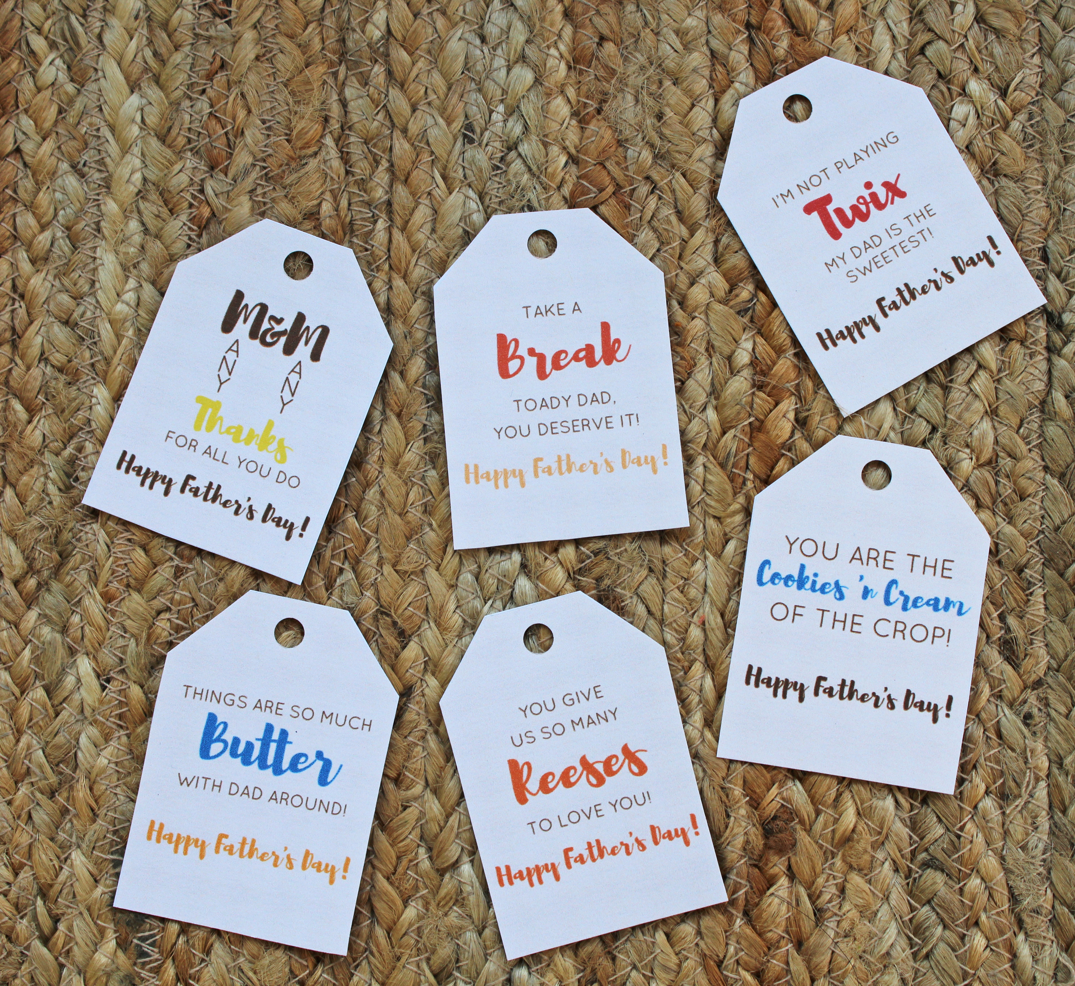 Free Printable Candy Tags For Father's Day - Free Printable Father's Day Labels