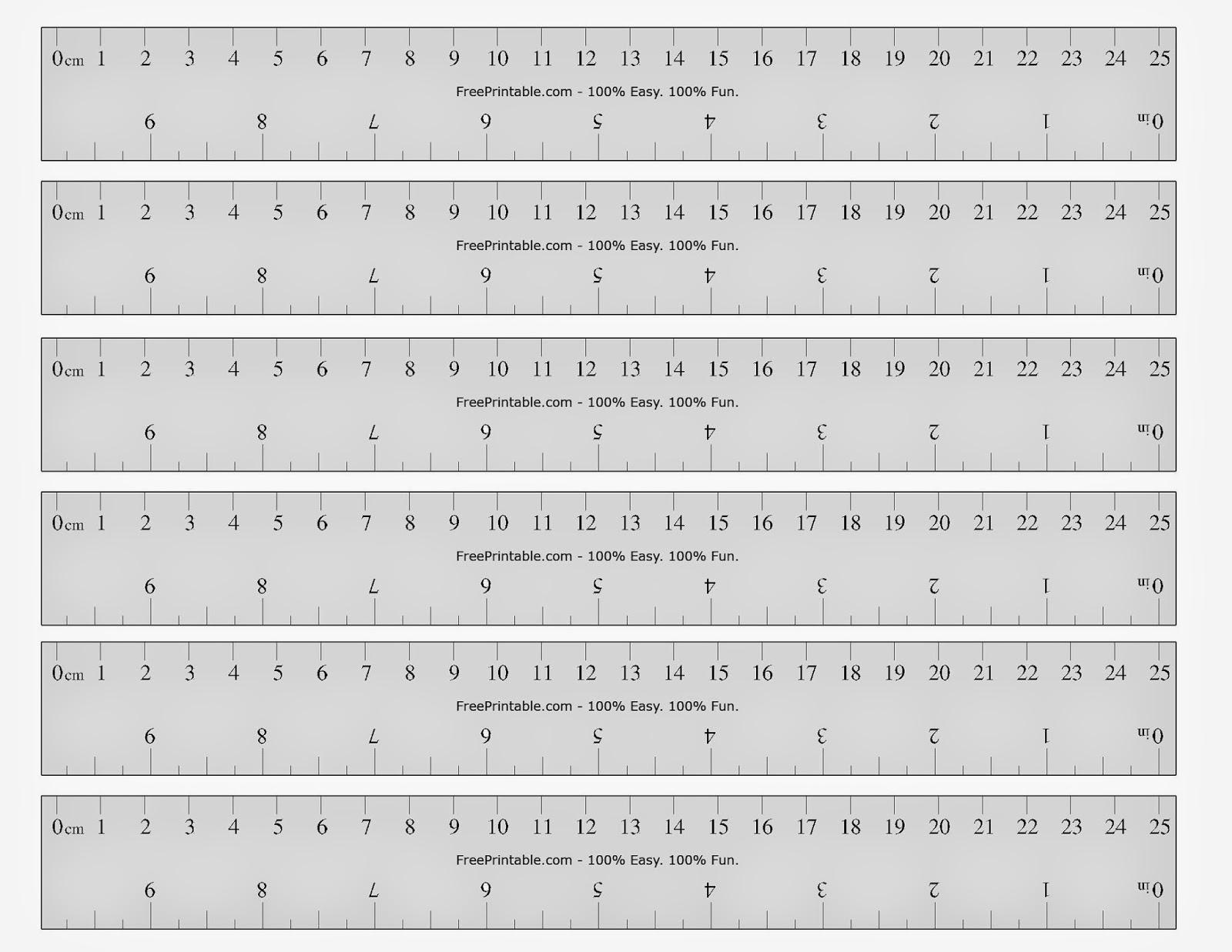 Free Printable Cards 2019: Free Printable Ruler - Free Printable Ruler
