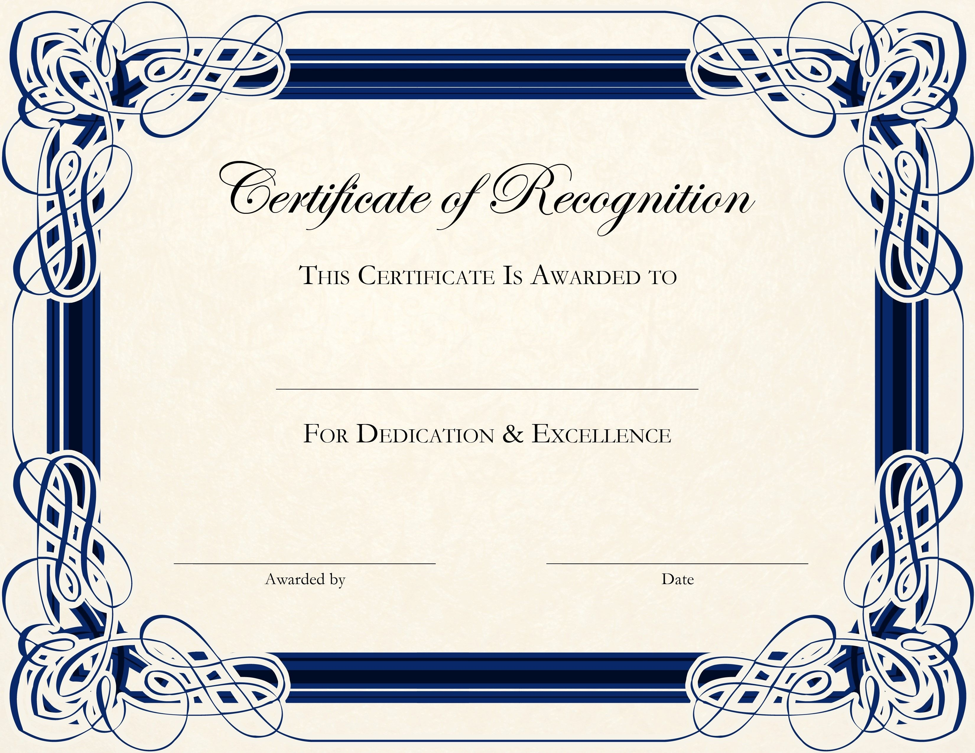 Free Printable Certificate Templates For Teachers   Besttemplate123 - Free Printable Certificates For Teachers