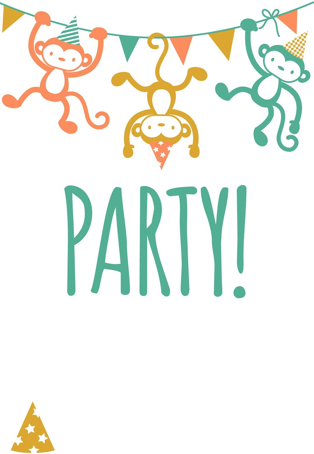 Free Printable Childrens Party Invitation | Free Printables | Free - Free Printable Toddler Birthday Invitations
