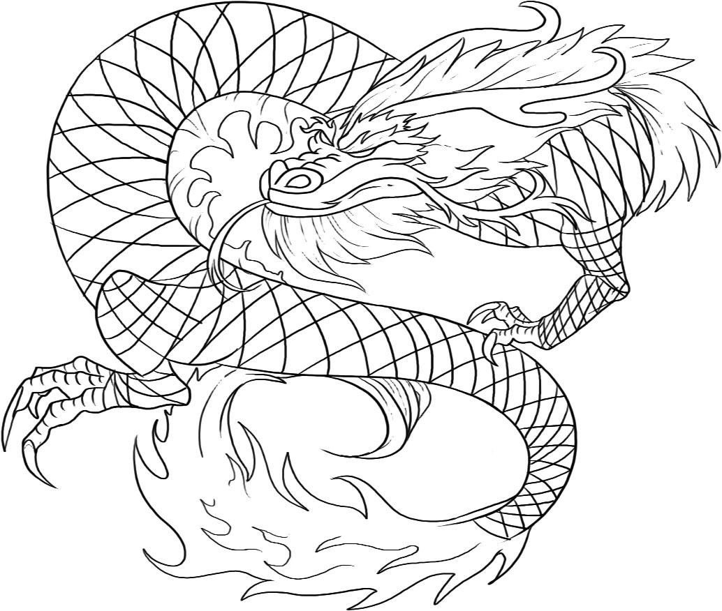 Free Printable Chinese Dragon Coloring Pages For Kids | Art - Free Printable Chinese Dragon Coloring Pages