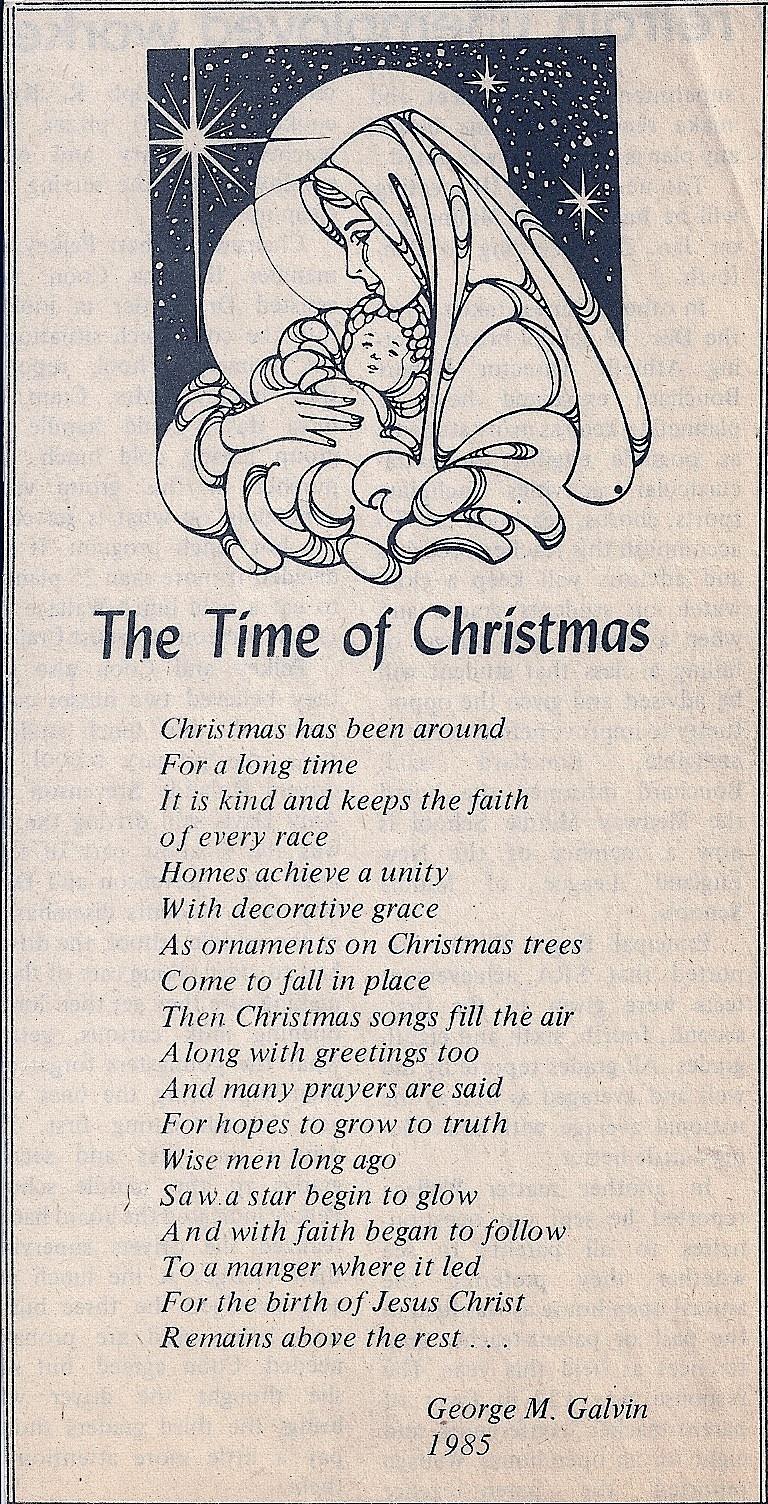 Free Printable Christian Christmas Poems – Festival Collections - Free Printable Christian Christmas Poems