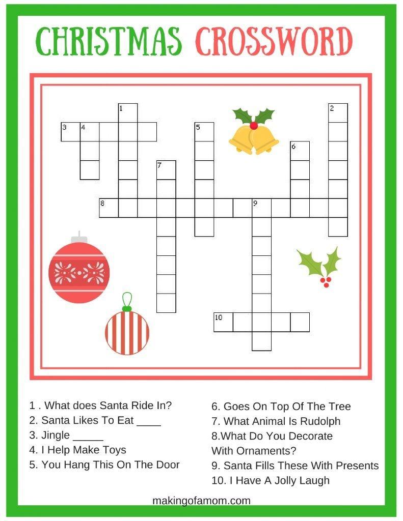 Free Printable Christmas Games | Christmas Game Printables - Free Printable Christmas Games For Adults