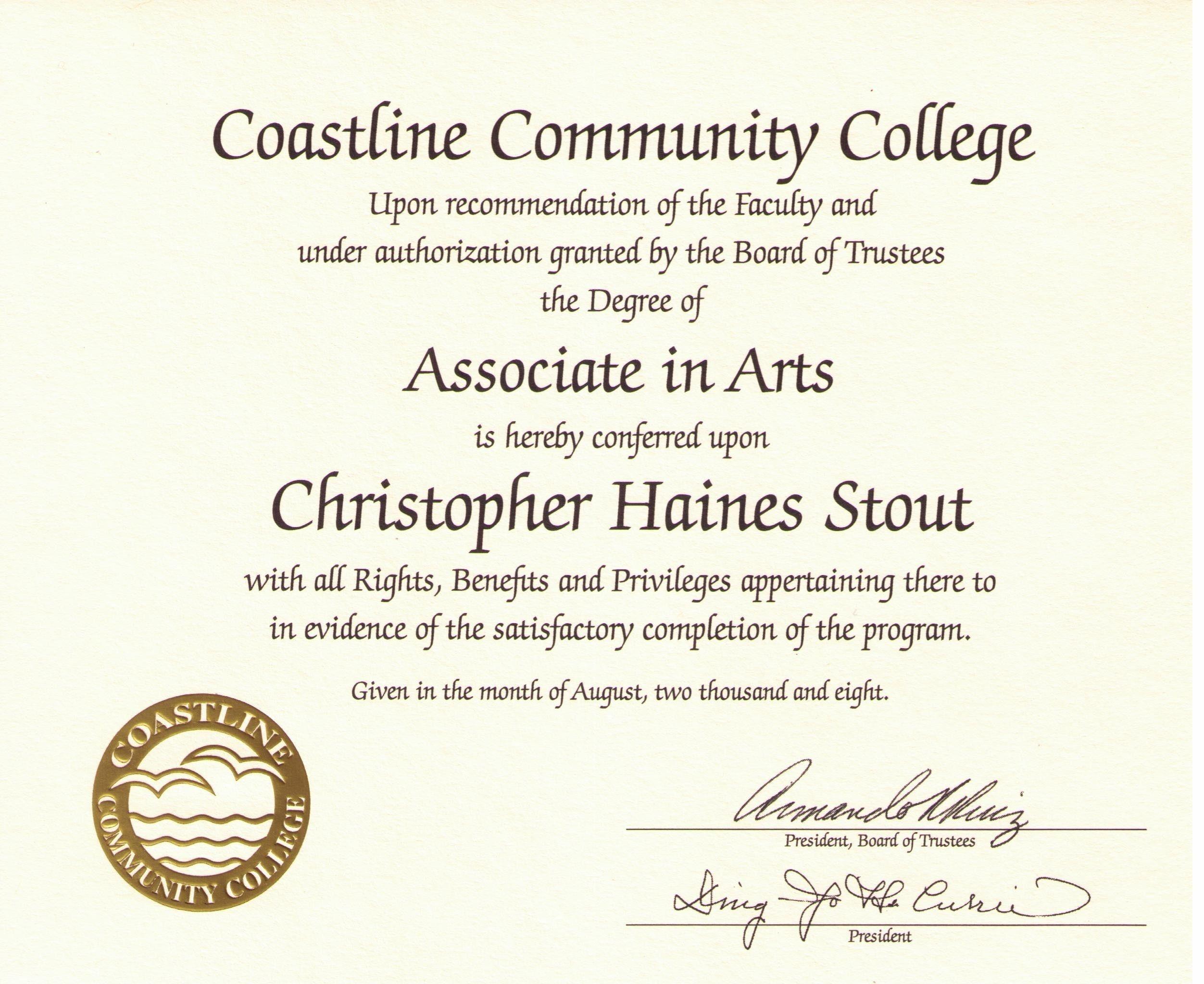 Free Printable College Diploma | Free Diploma Templates | In1 - Free Printable College Degrees