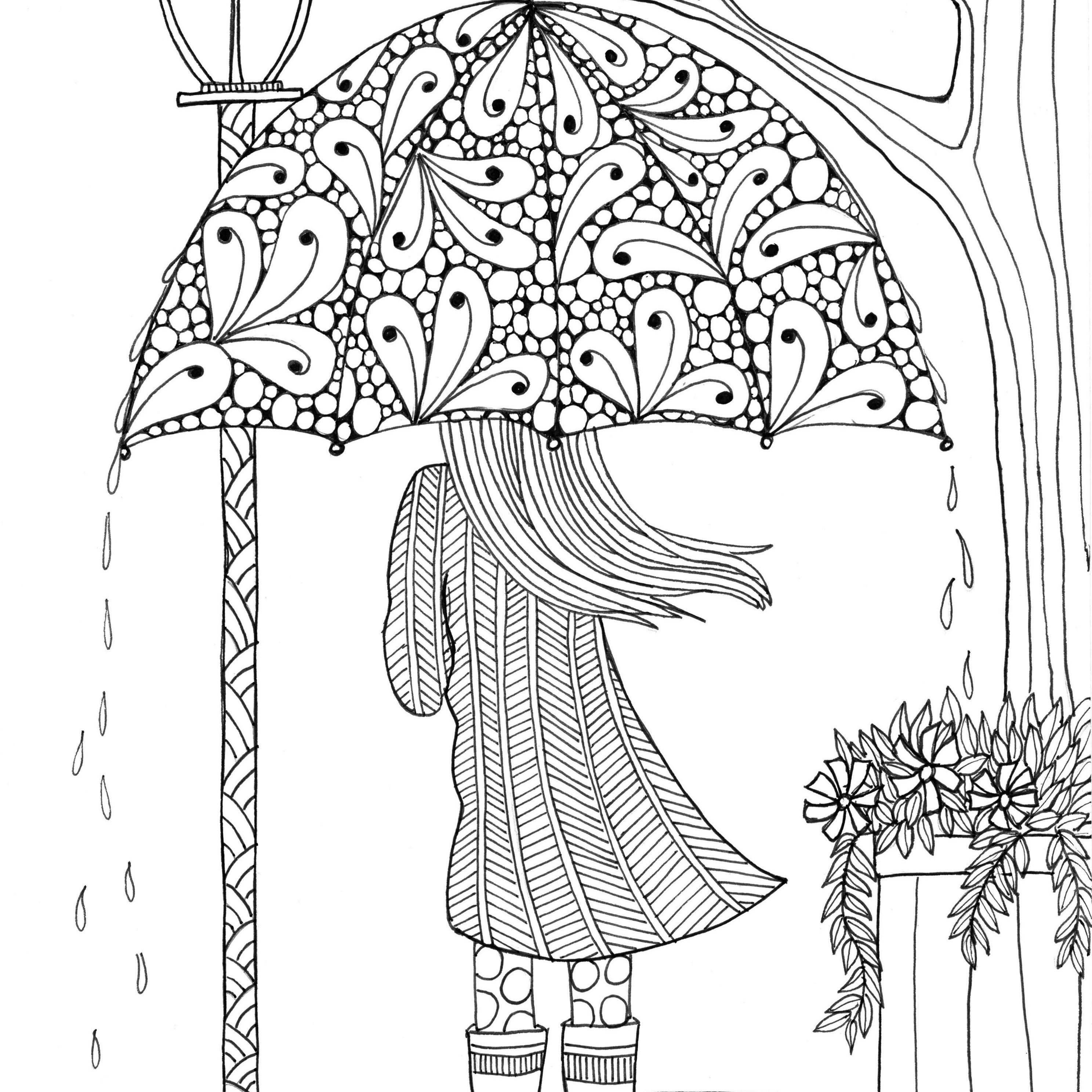 Free, Printable Coloring Pages For Adults - Free Printable Coloring Cards For Adults
