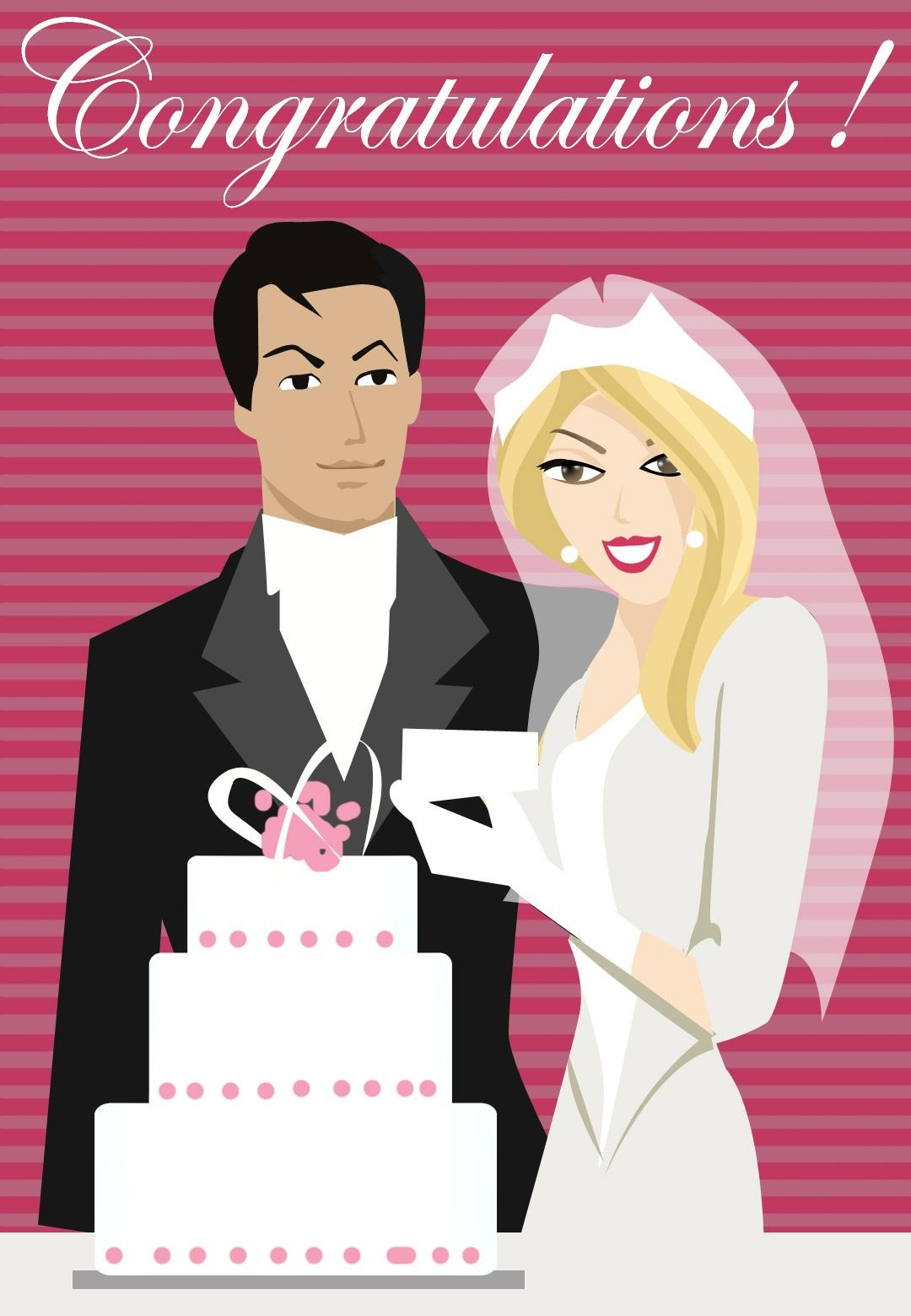 Free Printable Congratulations Greeting Card | Wedding Cards To - Wedding Wish Cards Printable Free
