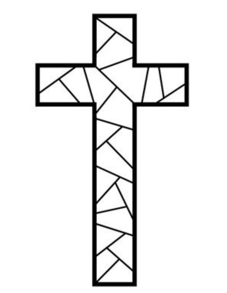 Free Printable Cross Coloring Pages | Coloring Pages | Cross - Free Printable Cross