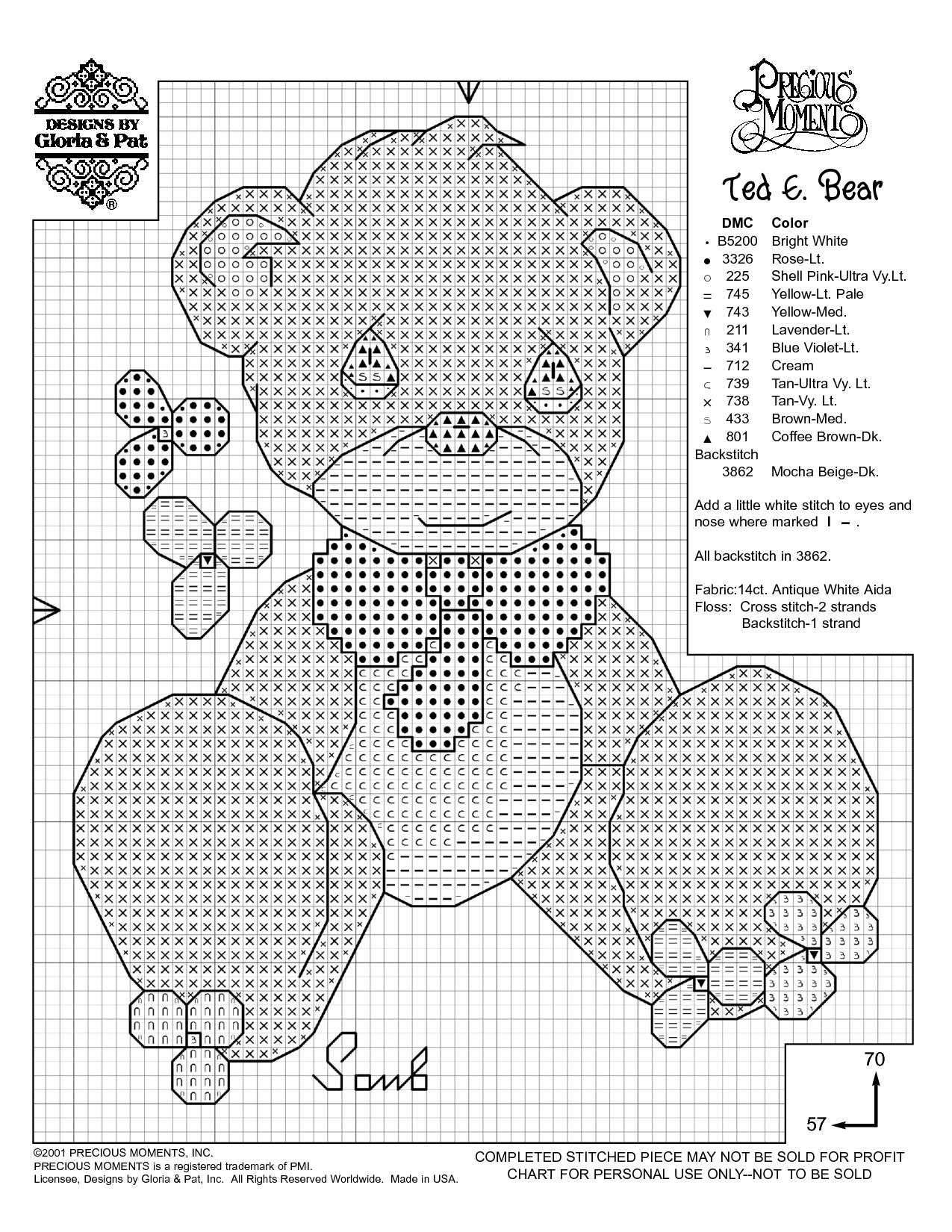 Free Printable Cross Stitch Patterns | Needlework Projects | Baby - Free Printable Cross Patterns