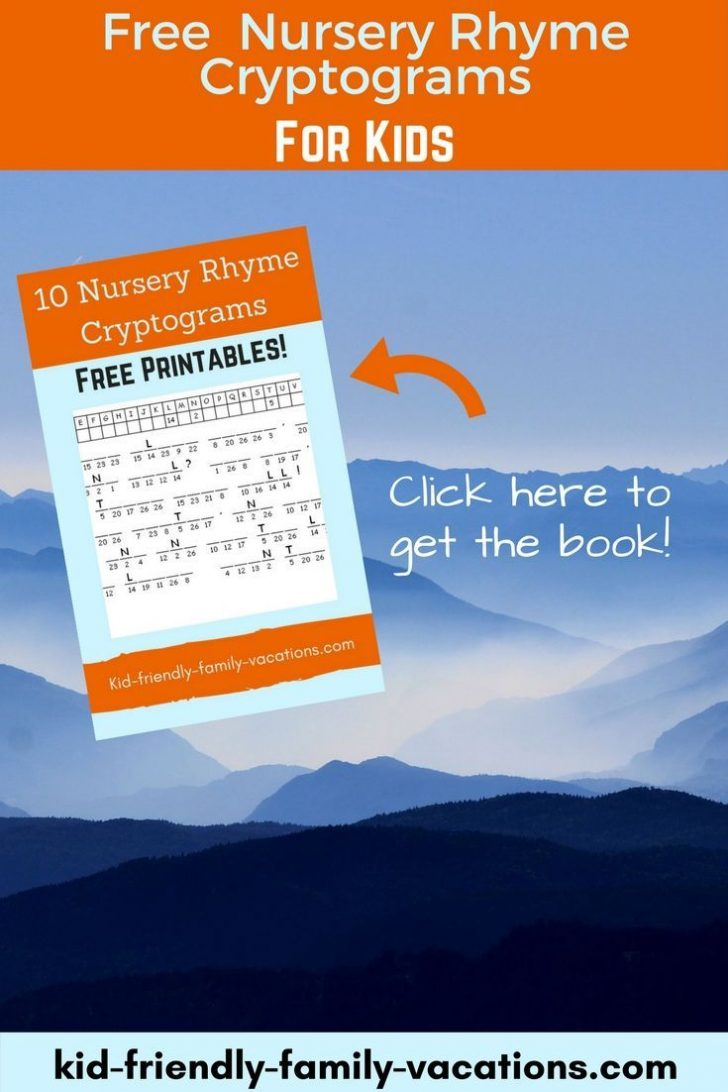 Free Printable Cryptograms