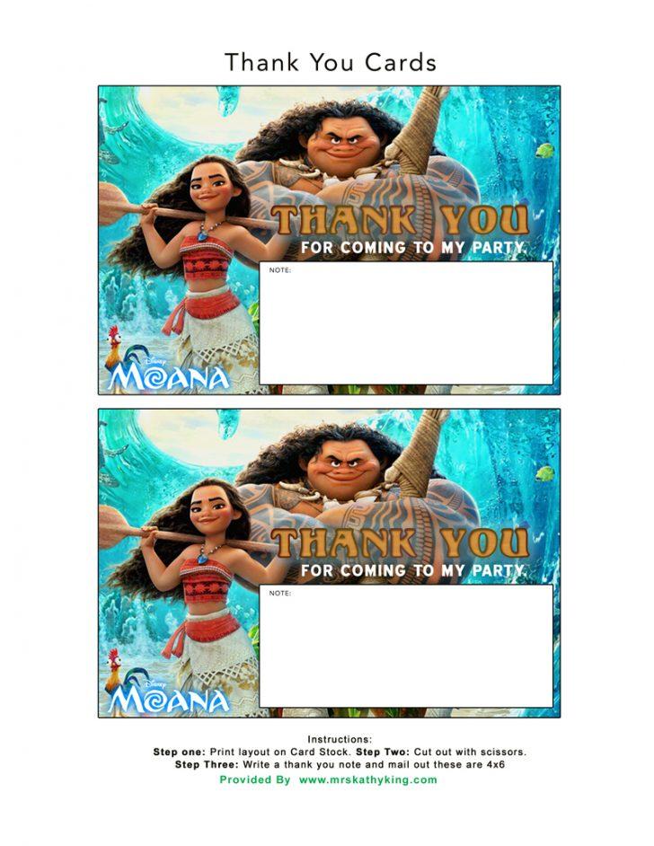Free Printable Moana Banner