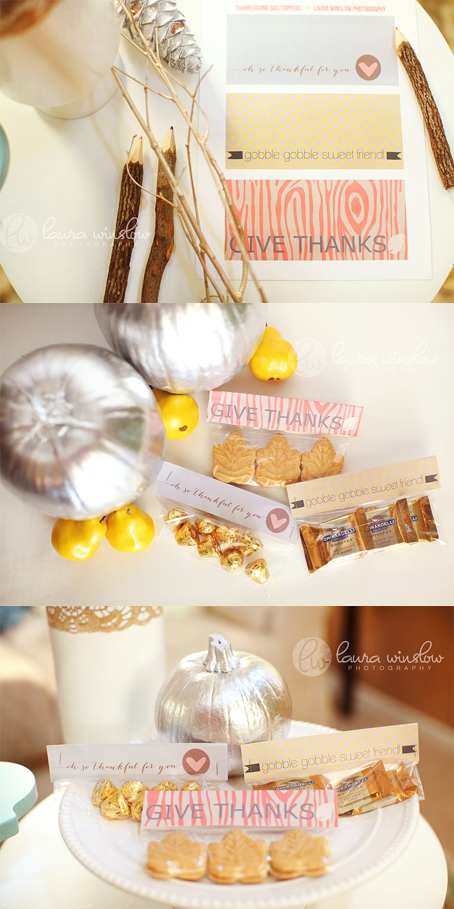 Free Printable Diy Thanksgiving Treat Topper :: Memorable Words - Free Printable Thanksgiving Treat Bag Toppers