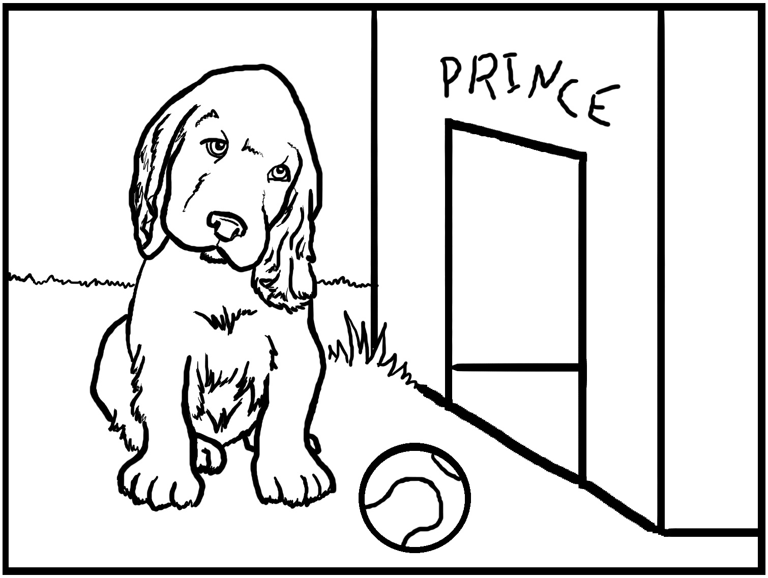 Free Printable Dog Coloring Pages For Kids - Free Printable Dog Coloring Pages