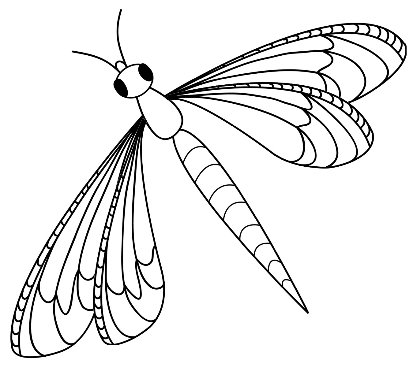 Free Printable Dragonfly Coloring Pages For Kids - Free Printable Pictures Of Dragonflies