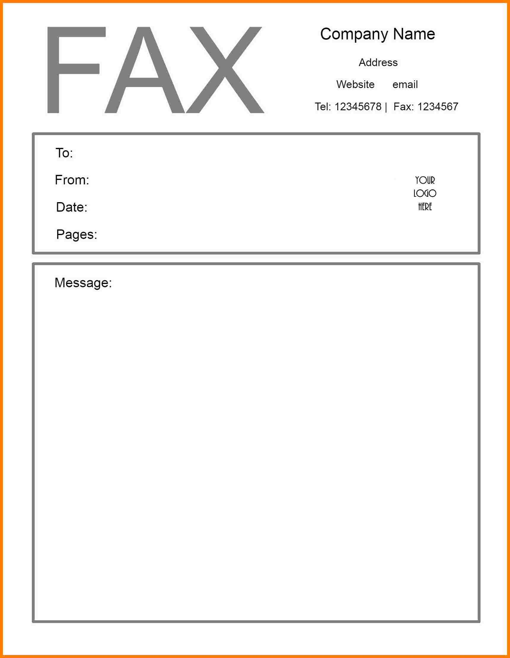 Free Printable Fax Cover Sheet | Printable Fax Cover Sheet - Free Printable Fax Cover Sheet