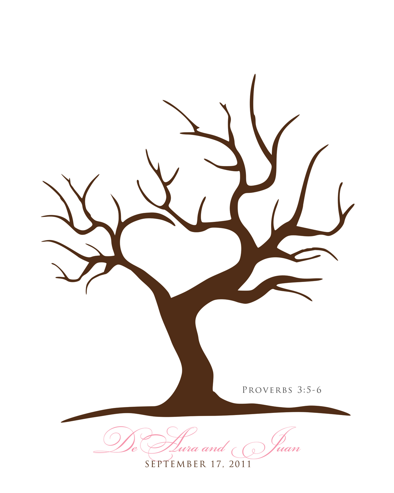 Free Printable Fingerprint Tree Template | Embroidery | Fingerprint - Free Printable Tree Template