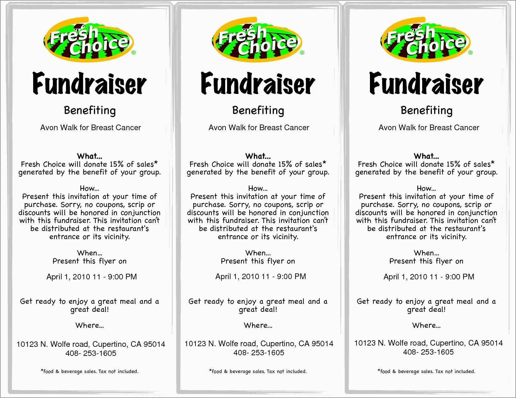 Free Printable Flyer Templates Beautiful Free Flyer Template | Best - Free Printable Fundraiser Flyer Templates