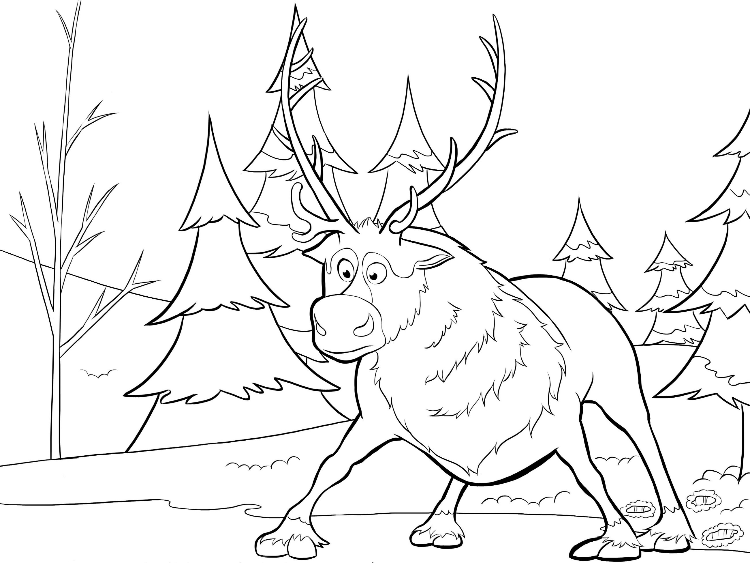 Free Printable Frozen Coloring Pages For Kids - Best Coloring Pages - Free Printable Coloring Pages Disney Frozen